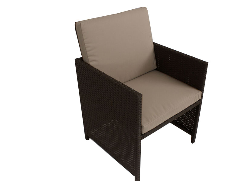 Brown centra 12 seater wicker outdoor dining furniture for Outdoor furniture 12 seater