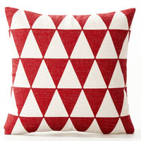 Red Katmandu Outdoor Cushion