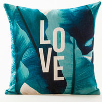 Tropical Love Outdoor Cushion